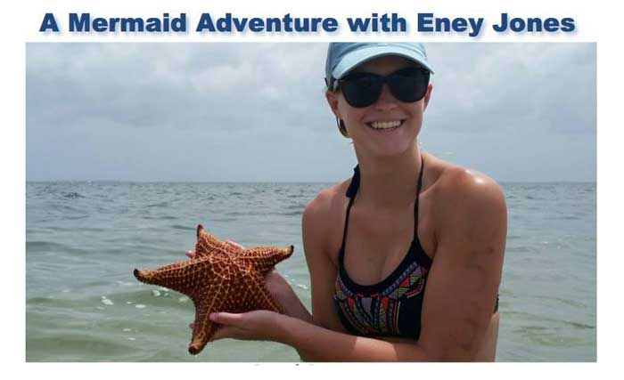 Mermaid Adventure with Eney Jones in the Cayman Islands